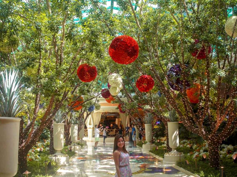 O que fazer em Las Vegas - interior do hotel Wynn