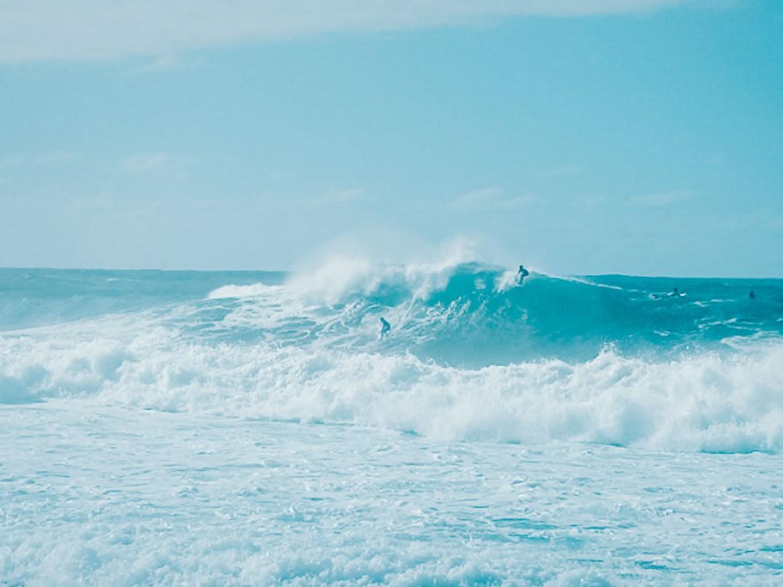 Banzai Pipeline - surf em Oahu no Havaí