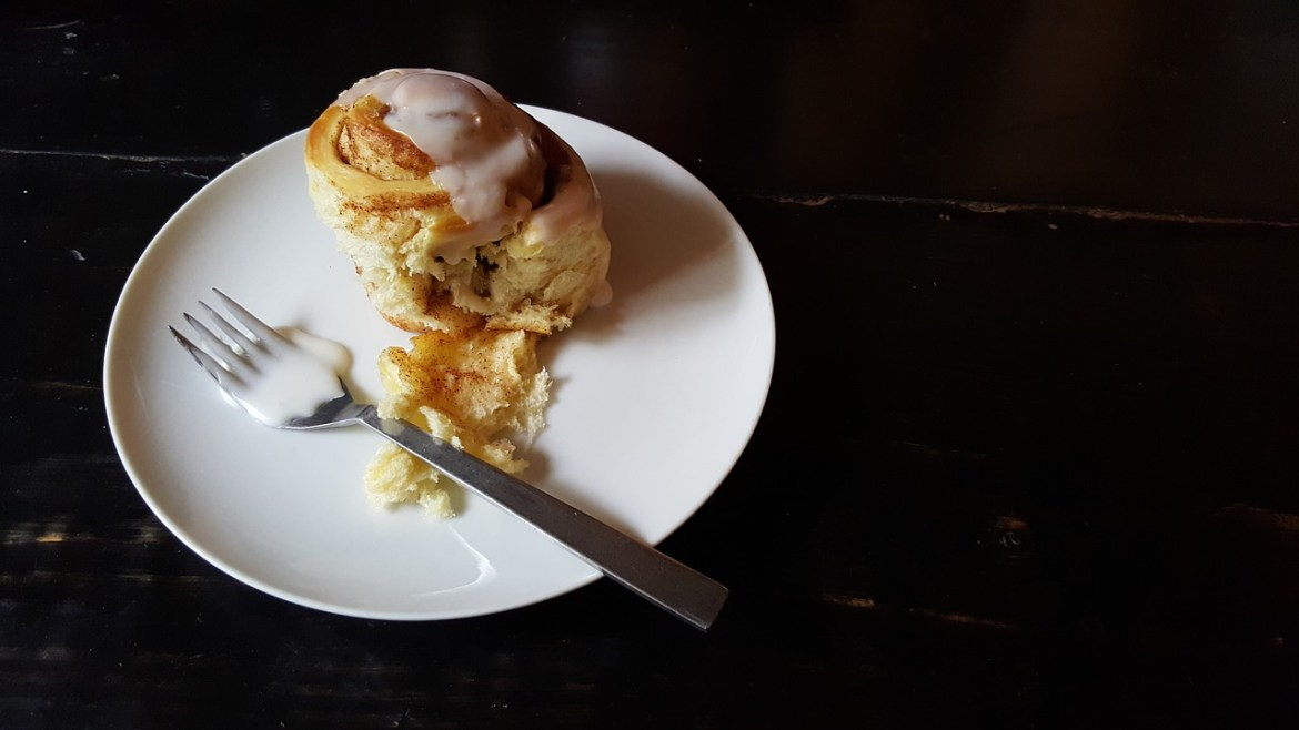 doces ao redor do mundo -cinnamon rolls