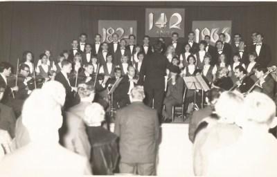 142 anos da Imigração Alemã. Concerto no Centro Cultural 25 de Julho