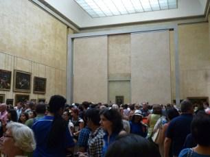 Sala onde encontra-se a Monalisa