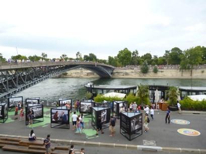 Uso de Espaços Públicos no entorno do Rio Sena