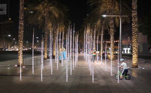 The Emaar Boulevard Umaya Lighting Design