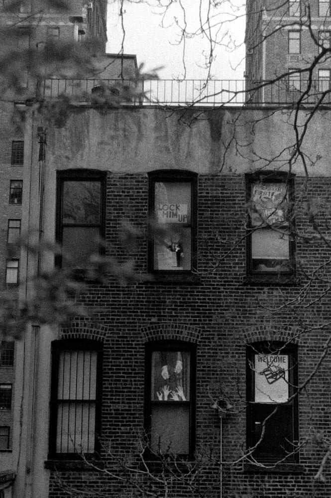 Manhattan in blackandwhite