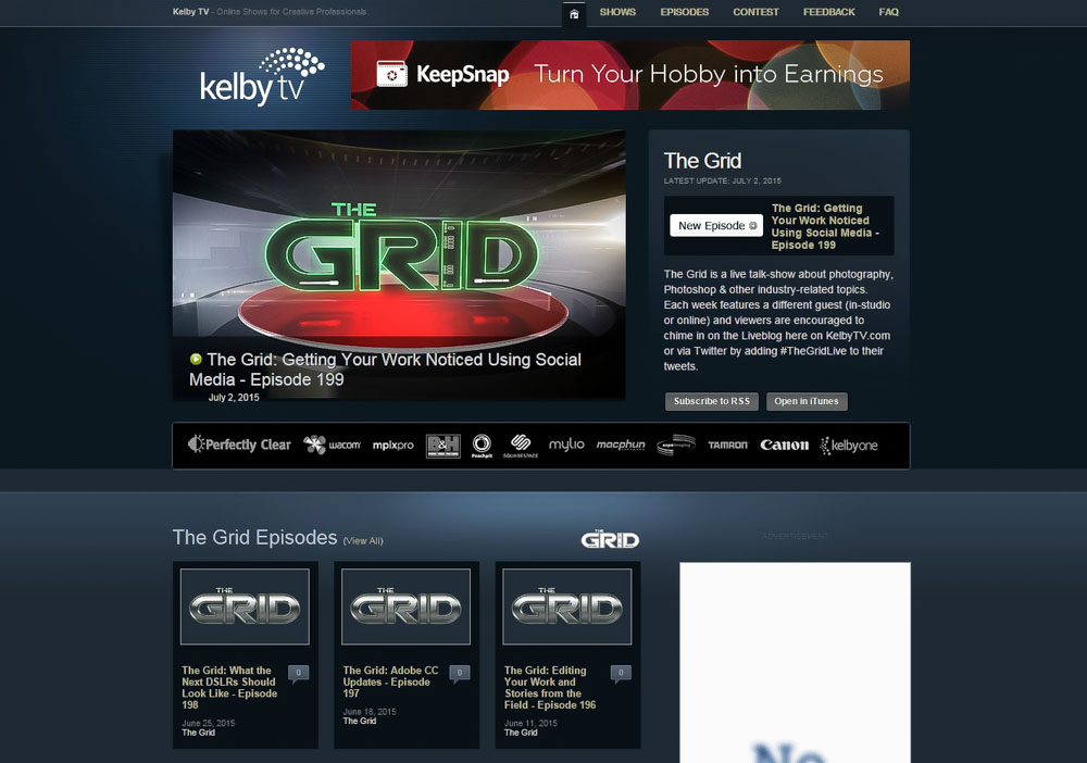 The Grid - Kelby TV