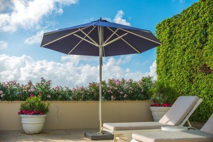 Bambrella Hurricane Round Patio Umbrella
