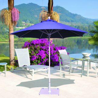 Galtech 732 9' Round Deluxe Commercial Market Umbrella