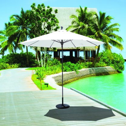 Galtech 735 9′ Round Commercial Market Umbrella