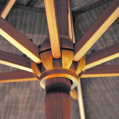 Hub for Galtech 738 9′ Round Deluxe Auto Tilt Umbrella