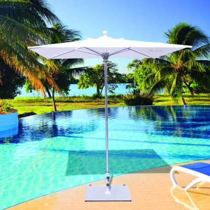 Galtech 762 6′ Square Deluxe Commercial Market Umbrella