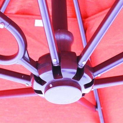 Hub for Galtech 897 10′ x 10′ Cantilever (Offset) Aluminum Square Umbrella