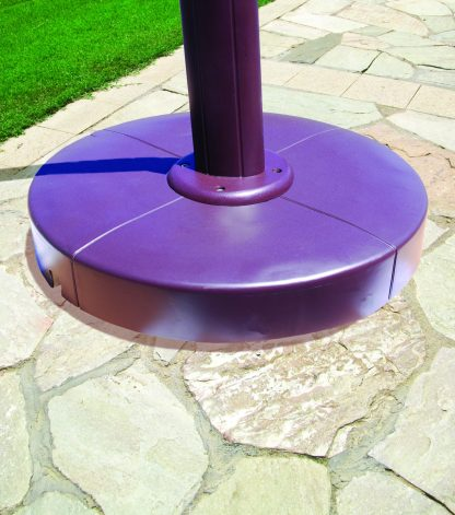 Cantilever base for Galtech 897 10′ x 10′ Cantilever (Offset) Aluminum Square Umbrella