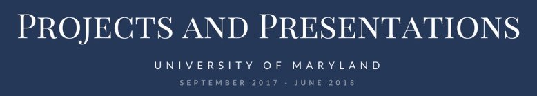 proj and presentations
