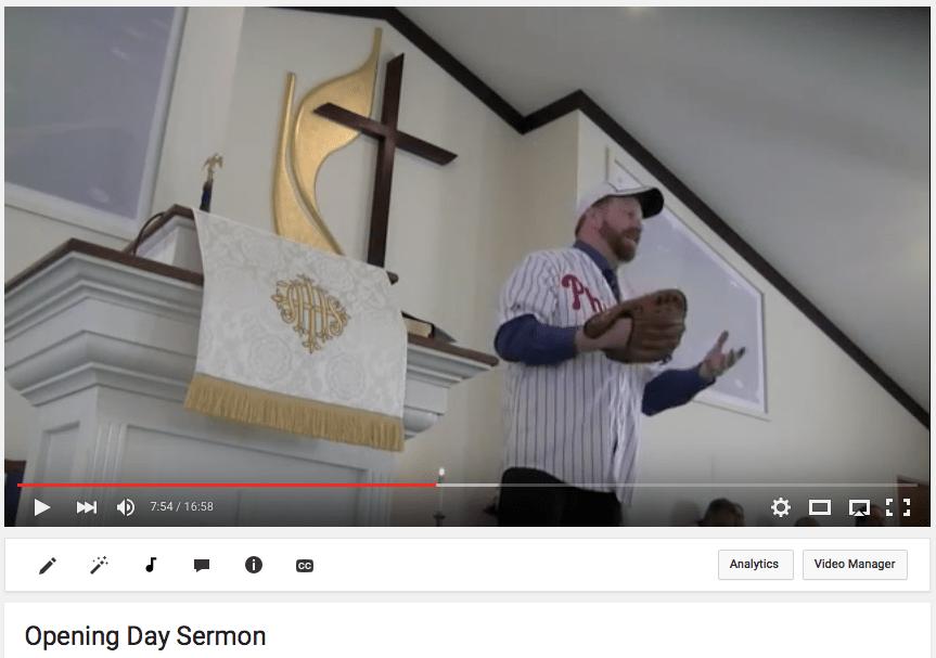 Opening Day Sermon