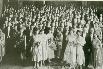 Junior Prom 1921, at the Washington Hotel