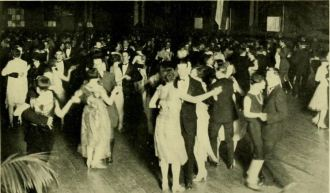 A dance at the Rossborough Inn in College Park, 1927