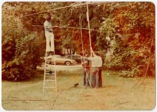 W3EAX members, circa 1978.