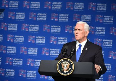 UMD Praises VP Pence, Urges Him to Underscore U.S. Support for Macedonia's NATO Membership