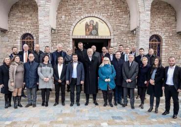 ОМД jа поздрави посетата на Пустец на Заев и Рама
