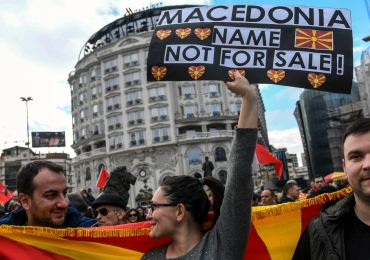 Greece accused of 'genocide' of Macedonian people