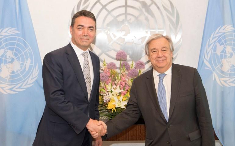 Во Писмо до Генералниот Секретар на ООН, ОМД Бара Правда за Македонија