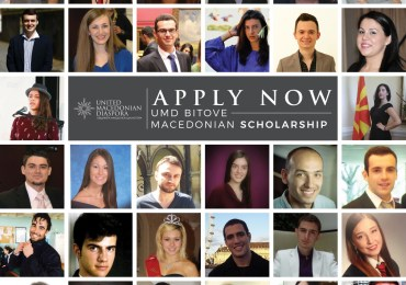 APPLY NOW: UMD Bitove Macedonian Scholarship