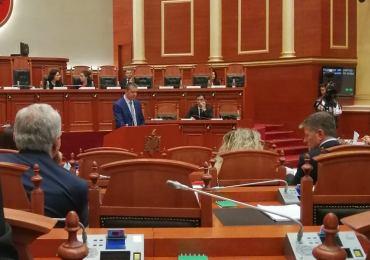 ОМД му честита на првиот македонски член на албанскиот парламент Васил Стерјовски