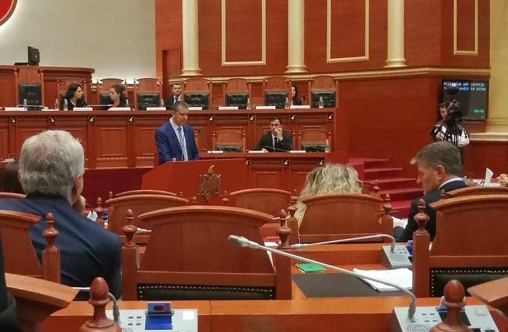 UMD Congratulates 1st Macedonian Member of Albanian Parliament Vasil Sterjovski