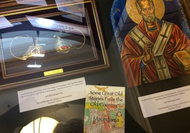 Macedonian Items Displayed at Ohio Statehouse for Eastern European Month