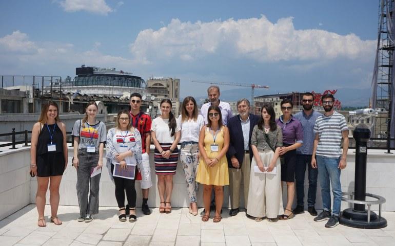 5th Year Birthright Macedonia Program Kicks Off in Skopje