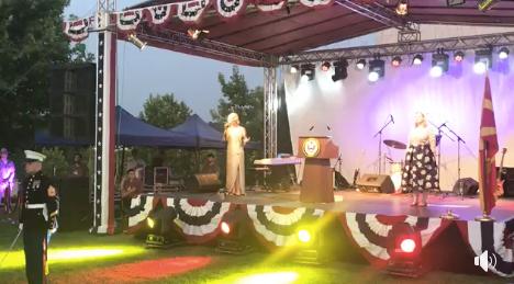 ОМД повикува на извинување од Амбасадата на САД поради грешната македонска химна