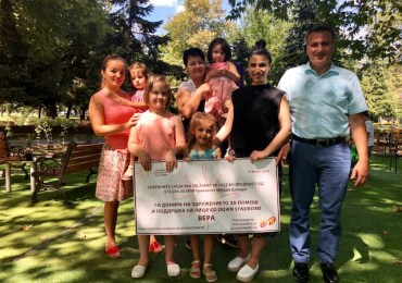 UMD Gives $13,000 Ajvar 5K Grant to VERA – Children with Down Syndrome and Autism