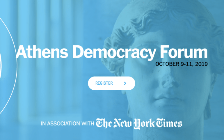 Joint UMD-MCLA Open Letter to NYTimes over Athens Democracy Forum