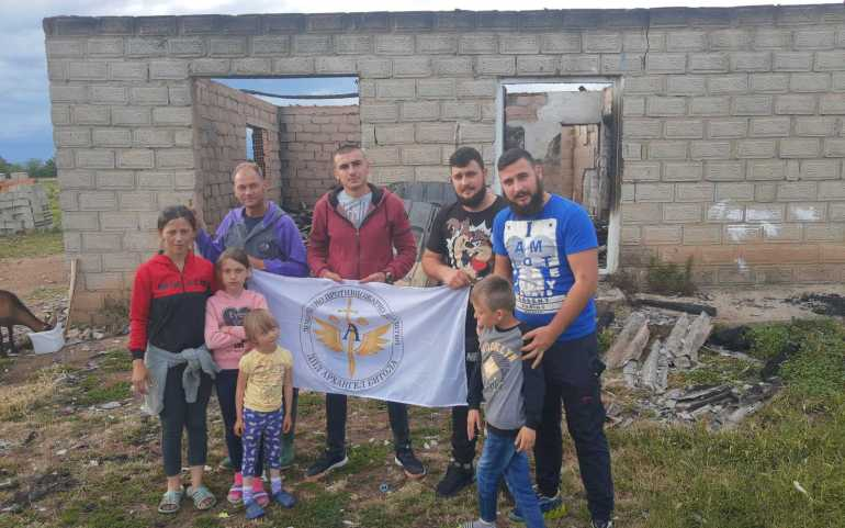 UMD, PrimePoint Partners, DPD Arhangel Bitola Team Up to Help Those in Need in Macedonia