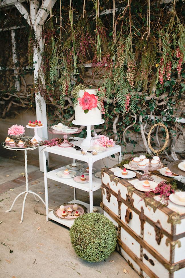 Ruffled - photo by http://meganwelker.com/ - http://ruffledblog.com/garden-romance-wedding-inspiration/