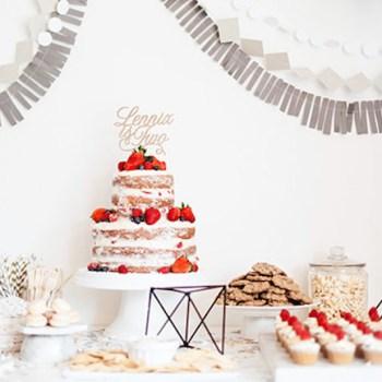 bolo frutas vermelhas naked cake