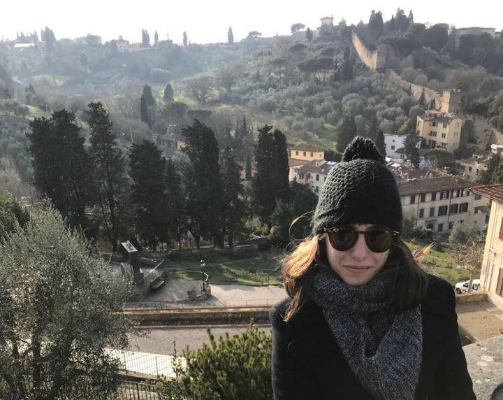 Florença - Piazzale Michelangelo - Ao fundo, as ruínas das muralhas Toscanas