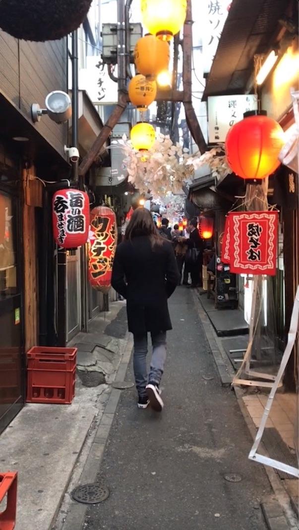 Andando por Tokyo - Shinjuku Omoide Yokocho