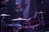 Drummer of The Hunna, Jack Metcalfe, peforms at U Street Music Hall on the Alt Nation Advanced Placement Tour. (Cassie Osvatics/Bloc Reporter)