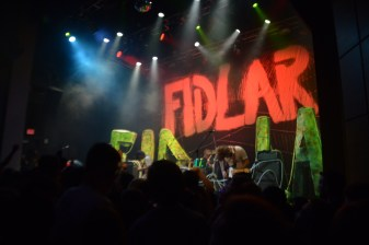 "Fidlar opened their much anticipated set with a cover of Beastie Boys' ""Sabotage."" (Miranda Rosen/Bloc Photographer)"