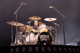 Green Day drummer Tre Cool performs at the Verizon Center on March 13, 2016. (Casey Tomchek/Freelance photographer)