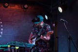 Electric guest's touring bassist performs at U Street Music Hall in D.C. (Cassie Osvatics/Bloc Reporter)