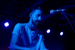 Electric guest's touring key board player and guitarist performs at U Street Music Hall in D.C. (Cassie Osvatics/Bloc Reporter)
