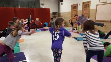 4-H'ers working on their health