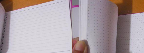 手帳のフリーページ