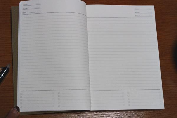 B6フリーノート・368ページ