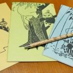 夢ノートのためのノートを購入 大好きなムーミンでモチベーションをアップ