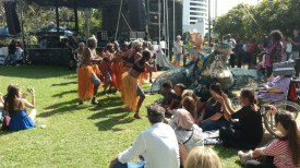The festival celebrated aborigine culture