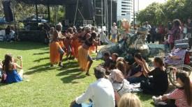 The festival celebrated aborigine culture