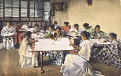 Embroidery Class, Manila, Philippines
